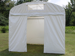 Craft Hut Canopy with Universal Door Wall