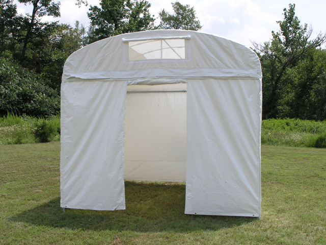 Craft Hut Canopy with Universal Door Wall : flourish tent - memphite.com