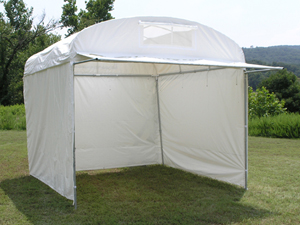 "Craft Hut with 36"" Front Awning"