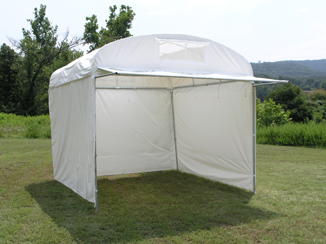 Craft Hut With 36 Front Awning